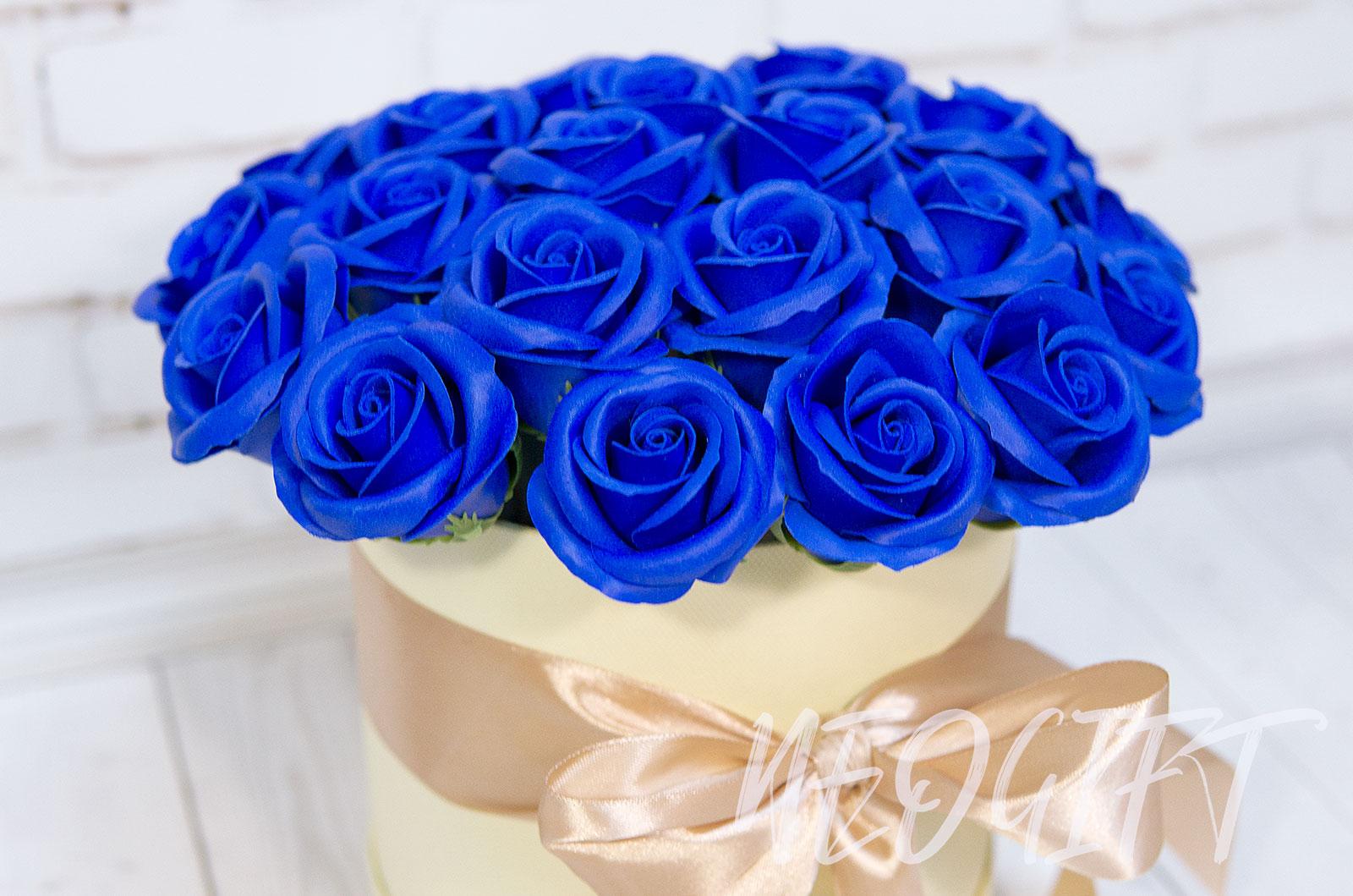 Стихах, открытки с синими розами